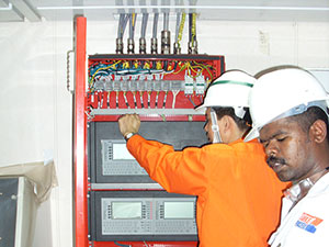 Commissioning-of-Fire-Addressable-Control-Panel-on-FPSO