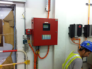 Commissioning-of-Fire-Alarm-Conventional-Panel-at-Power-Plant