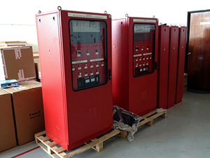 Gas-Detection-Panel-use-for-Power-Plant