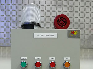 Control-Panel-with-Buzzer-and-Beacon-Light-use-in-Factory